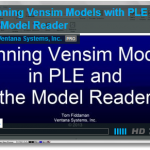 Running models with Vensim PLE and the Model Reader