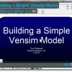 Building a Simple Vensim Model